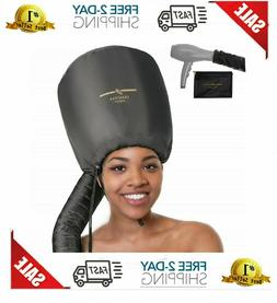 Bonnet Hood Hair Dryer Attachment Speeds Up Drying Time at H