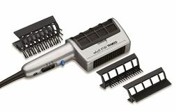 Brush Hair Blow Dryer, Comb Ion 3 Attachment Ceramic Long Th