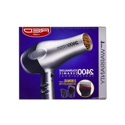 Red by KISS 2400 Tourmaline Ceramic Hair Blow Dryer BD05N