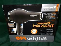 Ceramic Hair Dryer Professional Babyliss Pro Salon Extreme T