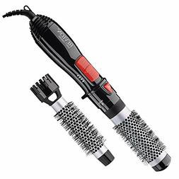 "Revlon Ceramic Hot Air Brush Kit with 1"" 1-1/2"" Brush Attach"