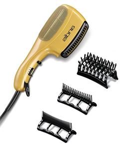 Ceramic Ionic Styler Hair Blow Dryer Straight Curl Comb Brus