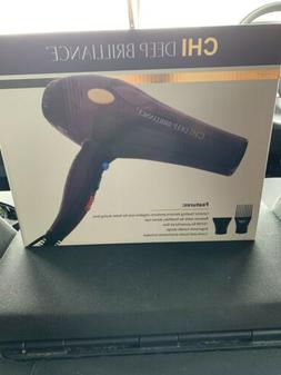 Forouk Chi Deep Brilliance Hair Dryer with Nozzle & Comb Att