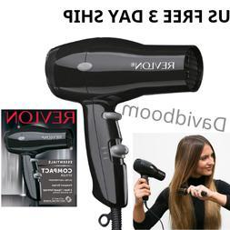 COMPACT HAIR DRYER Blower Revlon 1875 Heat Professional Blow
