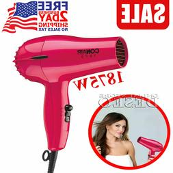 Compact Hair Dryer Portable Travel Blower Fast Drying Blow D