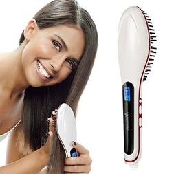 Creative Hair Straightener Hair Brush Instant Straightening