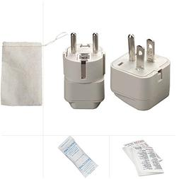 Going In Style Cuba Grounded Adapter Plug Kit - GUA and GUB