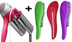 Cool Care Detangler Brush for Curly Hair, Set of Three, Prem
