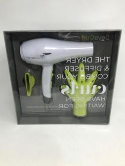 DevaCurl DevaDryer Ionic Hairdryer with Diffuser