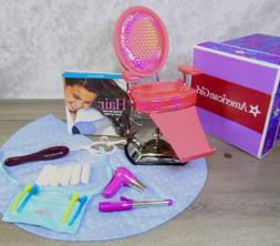 American Girl Doll HAIR STYLING SALON SPA CHAIR & ACCESSORIE