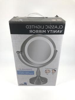 Zadro 8X/1X Dual-Sided Lighted Vanity Mirror