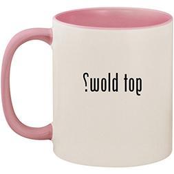 got blow? - 11oz Ceramic Colored Inside and Handle Coffee Mu