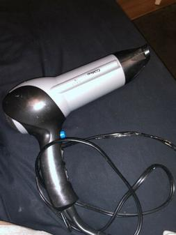 Conair Grey Blow Dryer With Diffuser Attachment Great Condit