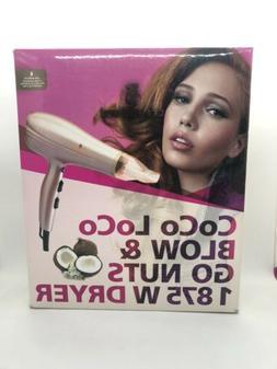 Hair Blow Dryer 1875W Quiet Lightweight Professional Fast Dr