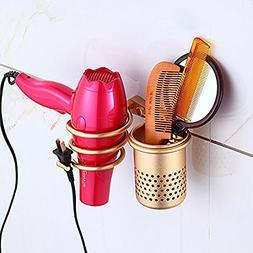 Biowow Hair Blow Dryer Holder Wall Mount Hair Dryer Hanging