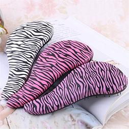 Fashion Hair Brush Combs Magic Handle Tangle Zebra/Leopard C