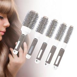Hair Dressing Brush High Temperature Ceramic Iron Round Comb