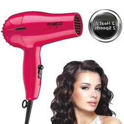 Hair Dryer Compact Blow Styler 1875W Cool Shot Adjustable He