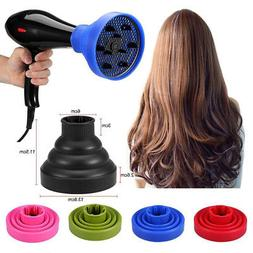 Hair Dryer Diffuser Blow Curly Wavy Attachment Professional