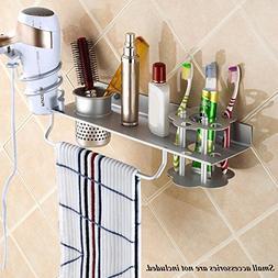 BIBNGLO Hair Dryer Holder Wall Mount Hair Blow Dryer Holder