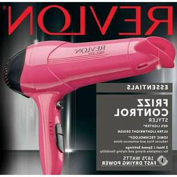REVLON HAIR DRYER Ionic Frizz Control 1875W Powerful Blow St
