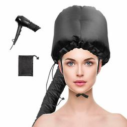 Hair Drying Cap Natural Curly Textured Care Hat Blow Dryer L
