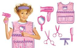 Number 1 in Gadgets Hair Stylist Role Play Costume Set for K