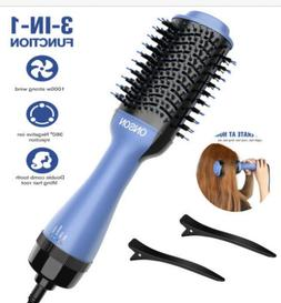 Hot Air Hair Dryer Negative Ion Volumizer Blow Dryer Brush S