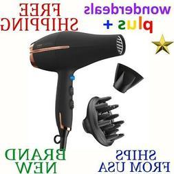 INFINITIPRO BY CONAIR 1875 Watt AC Pro Hair Dryer, Black