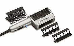 Ion Long Ceramic Blow Dryer Brush Hair Comb 3 Attachment Thi