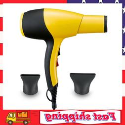 Ionic Hair Dryer AC 2100W Professional Salon Blow Dryer Low