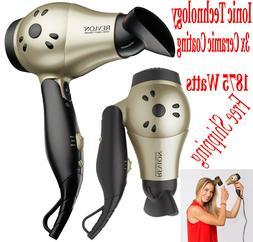 Revlon Ionic Hair Dryer Professional Travel Turbo Blow Compa