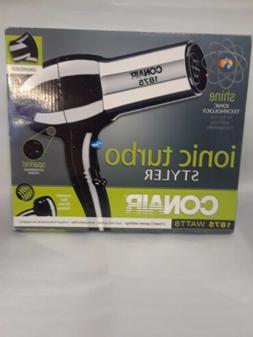 Conair Ionic Turbo Hair Styler Blow Dryer 1875 W NIB