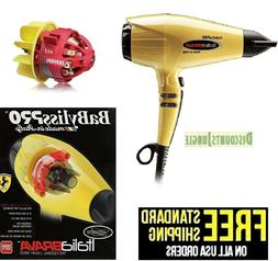 Babyliss Pro Italia Brava Luxury Salon Hair Dryer 2000W Ferr