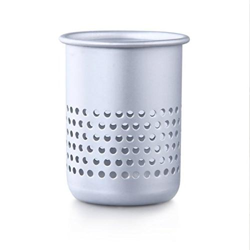 3 1 Dryer Holder Rack Hair Dryer Stand Wall Hair Rack Holder Bathroom Rack with 2 Cups Aluminum