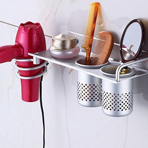 1 hair dryer holder rack