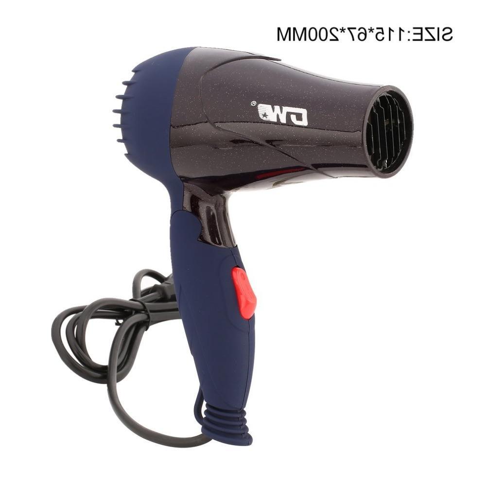 1500W Mini <font><b>Dryer</b></font> Travel Electric Blow <font><b>Dryer</b></font> Hot Hairdryer Plug AC <font><b>220V</b></font>