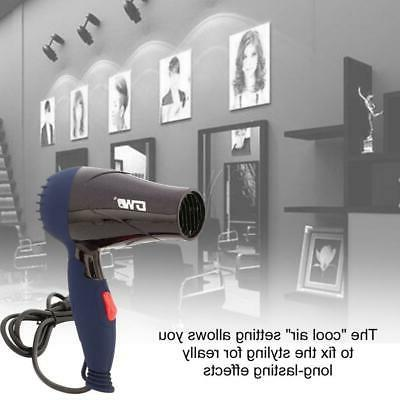 1500W Foldable Hair Dryer Blower Travel Electric Blow