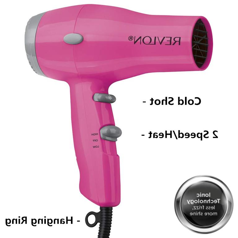 1875w compact and lightweight hair dryer black