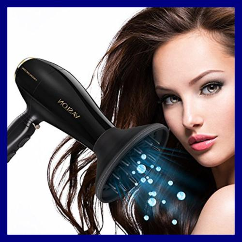 1875W Hair Dryer Diffuser Professional Blow Ceramic Ionic