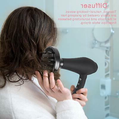 1875W Infrared Professional Hair Dryer, Negative Blow Dryer