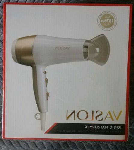 1875w lightweight negative ions hair blow dryer