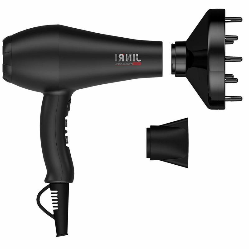 Jinri 1875W Professional Salon Hair Dryer Ionic Infrared Blo