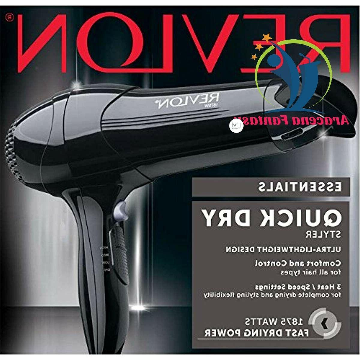 Revlon 1875W Quick Lightweight Hair Dryer