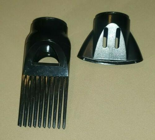 2 hair dryer blow dryer attachments fits