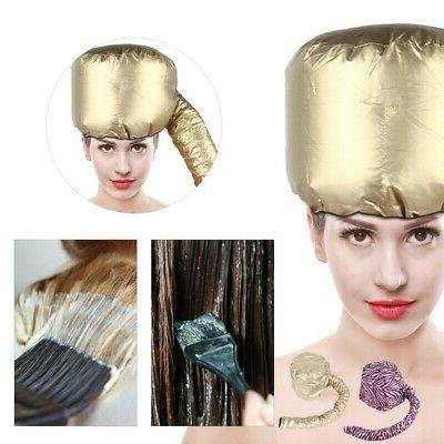2 Types Portable Hair Drying Blow Dryer Bonnet Hood Hat Hair