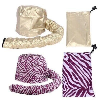 2 Soft Hair Drying Bonnet Hat Tool