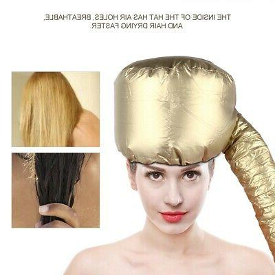 2 Type Portable Hair Drying Bonnet Hat Blow Dryer Tool