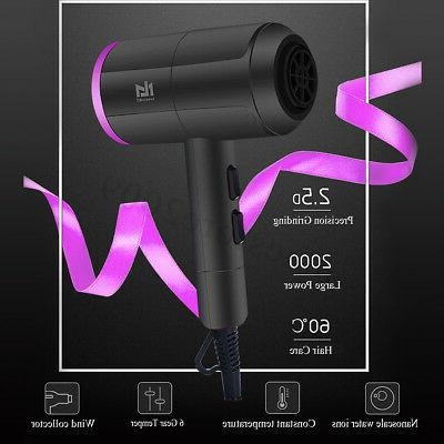2000W Hair Hot Cold Blow Fast Power 4