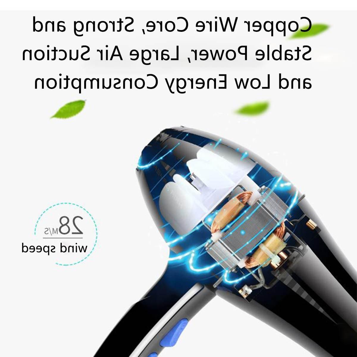 AUGIENB 4000W <font><b>Ionic</b></font> <font><b>Blow</b></font> <font><b>Dryer</b></font> Heating Hairdryer Hairdressing